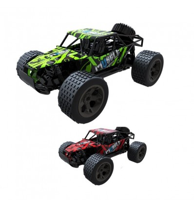 Cross Country Coche RC 23cm (rojo o verde)