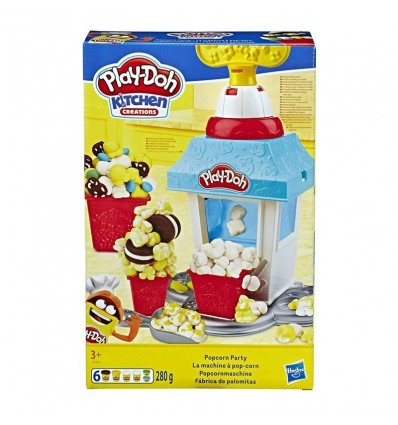 Play-doh fabrica palomitas