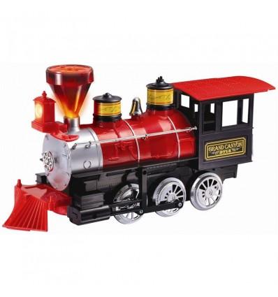 Locomotora gran cañon express con luz/sonido