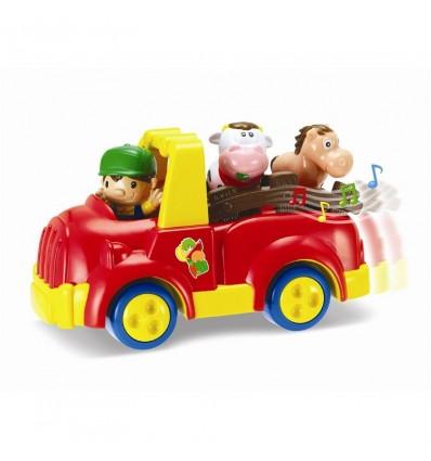 Camion granja con figuras