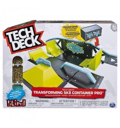 Tech deck contenedor trasf. de luxe