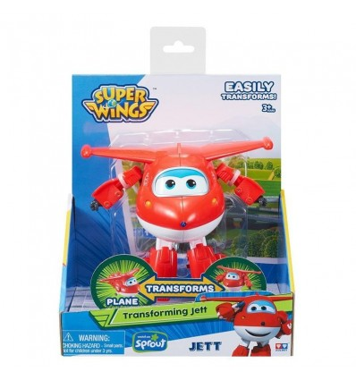 Jett figura transformable superwings