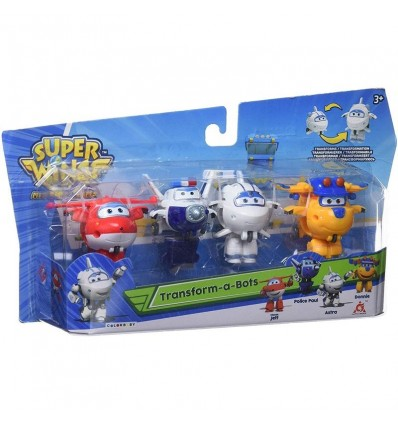 Superwings transformable a bots- pack de 4