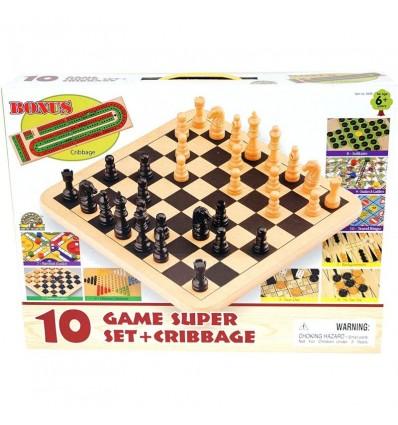 Set 10 juegos de madera