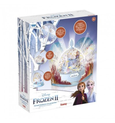 Frozen 2 Light-up Glitter Globe