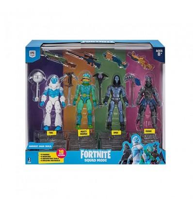 Fortnite Pack 4 Figuras