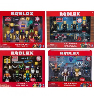 Roblox Rob-mix & match set (precio unidad)