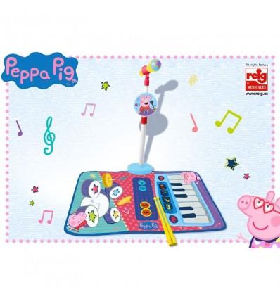 Alfombra bateria y piano peppa pig