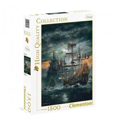 Puzzle 1500 barco pirata