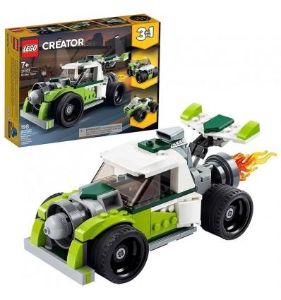 Camión a reacción lego creator