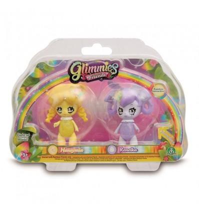 2 glimmies friends de 6cm (modelos aleatorios)