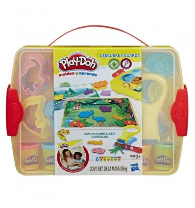 Play-doh crea y guarda