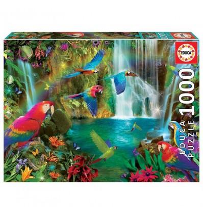 Puzzle 1000 loros tropicales