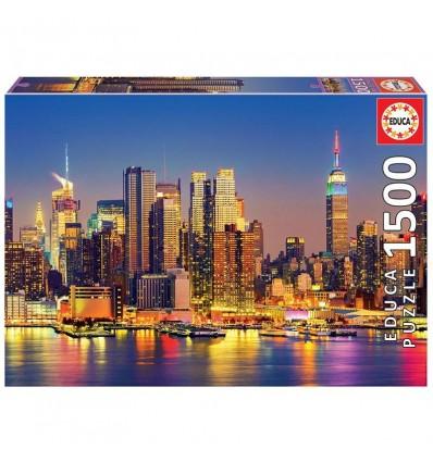 Puzzle 1500 manhattan de noche