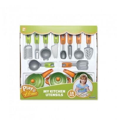 Juego de utensilios cocina