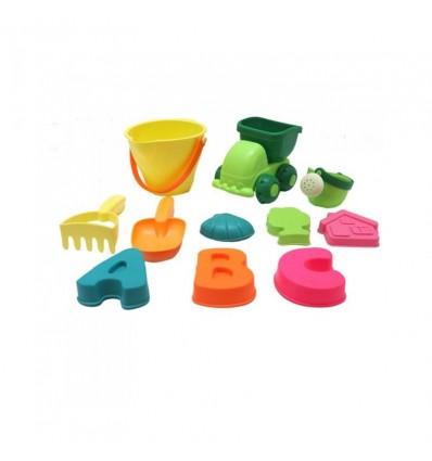 11 piezas soft para la arena