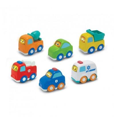 Vehiculos infantiles con luz y sonido