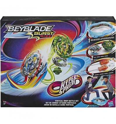 Beyblade estadio caida vertical