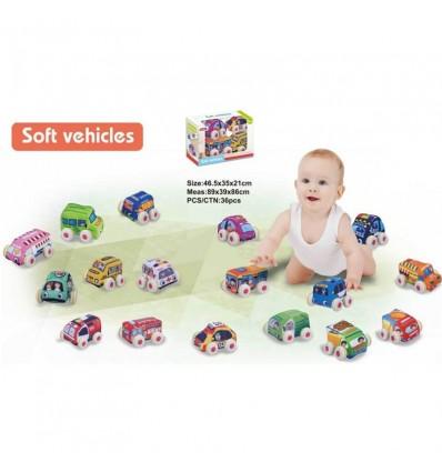 Caja de coches de tela (precio unidad)