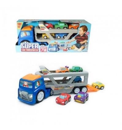 Camion transportador de 6 coches