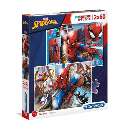 Puzzle 2x60 spiderman