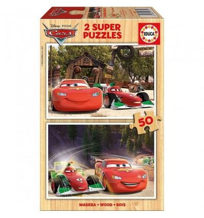 Puzzle 2 x 50 Cars