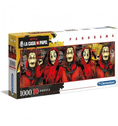 Puzzle 1000 panorama La Casa de Papel