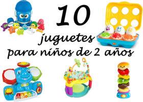 10 juguetes para niños de dos años
