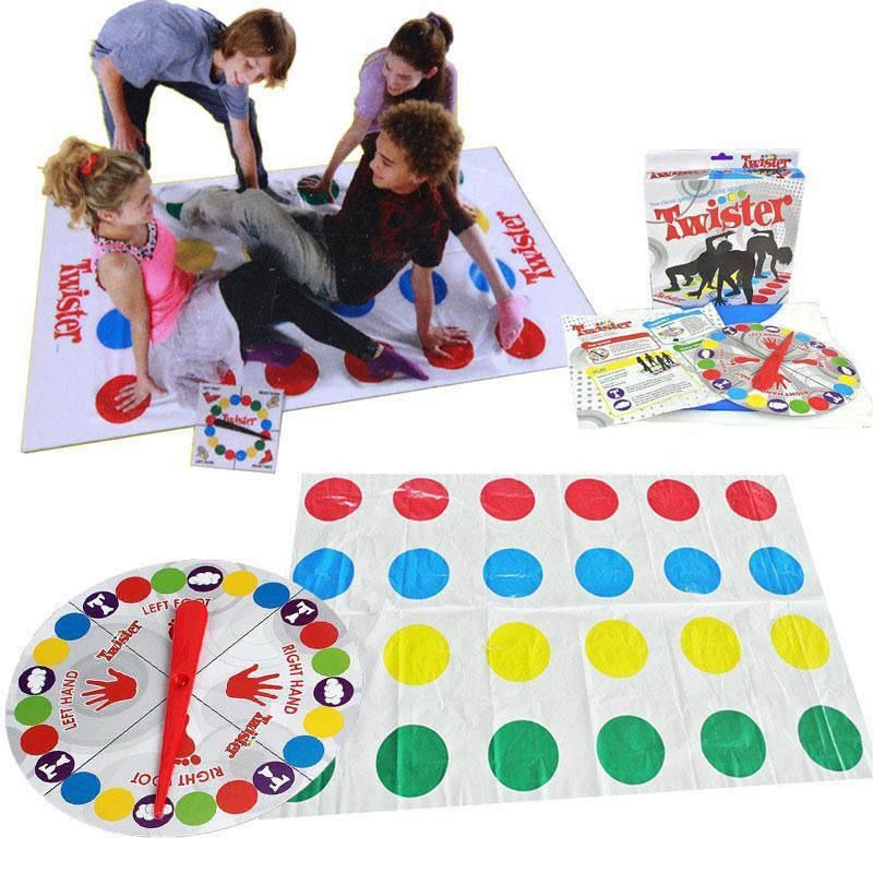 Twister Un Juego De Equilibrio Para Toda La Familia