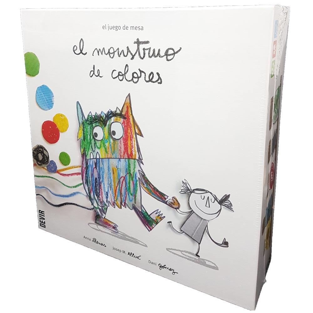 El Monstruo De Colores De Bestseller A Juego De Mesa Blog De Juguetes