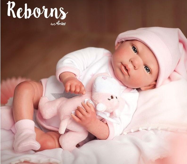 Bebés Reborn De Silicona Ilusión Y Realismo Palaciodeljuguete Com
