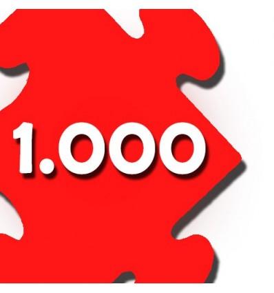 Puzzles de 500 a 1000 pzs
