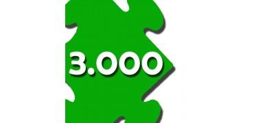 Puzzles de 1500 a 3000 pzs