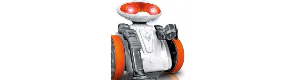 Robots disfrazados de juguetes