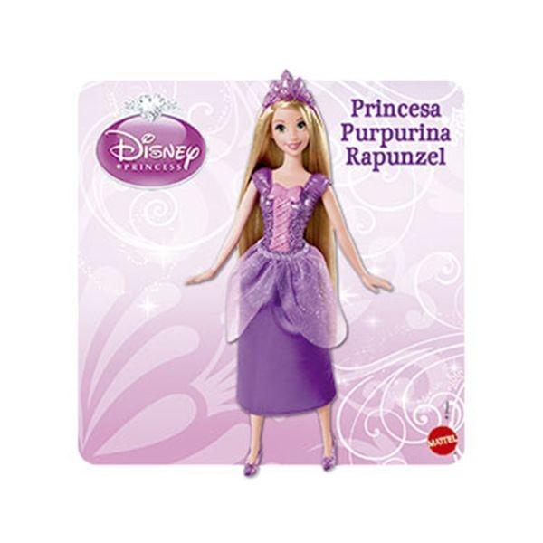 Princesas disney purpurina rapunzel