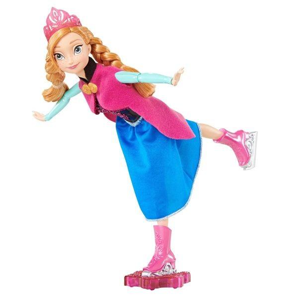 Anna patinadora de frozen