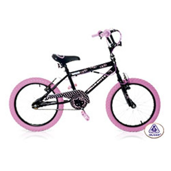 Bici hello kitty black 16'
