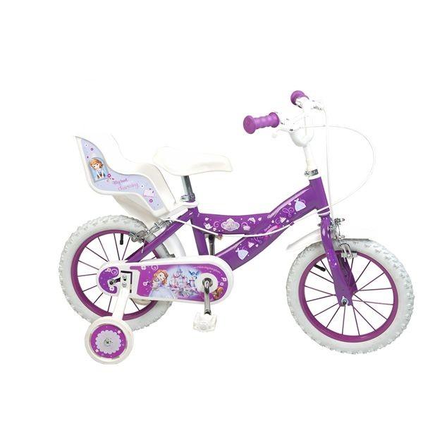Bicicleta 14 princesa sofia'