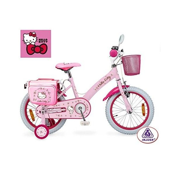 Bicicleta hello kitty romantic 16'