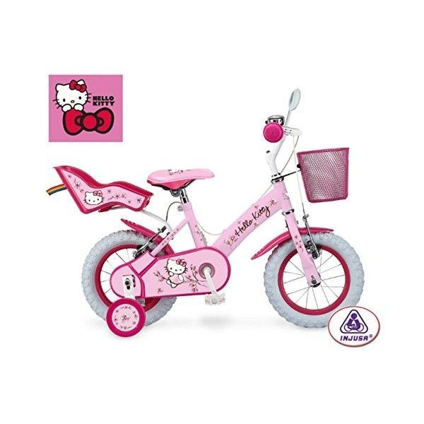 Bicicleta hello kitty romantic 12'