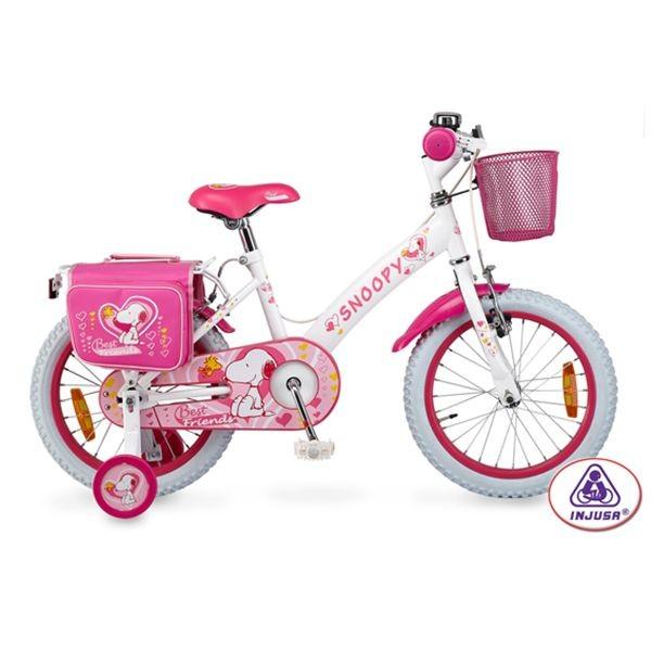 Bicicleta snoopy 16'