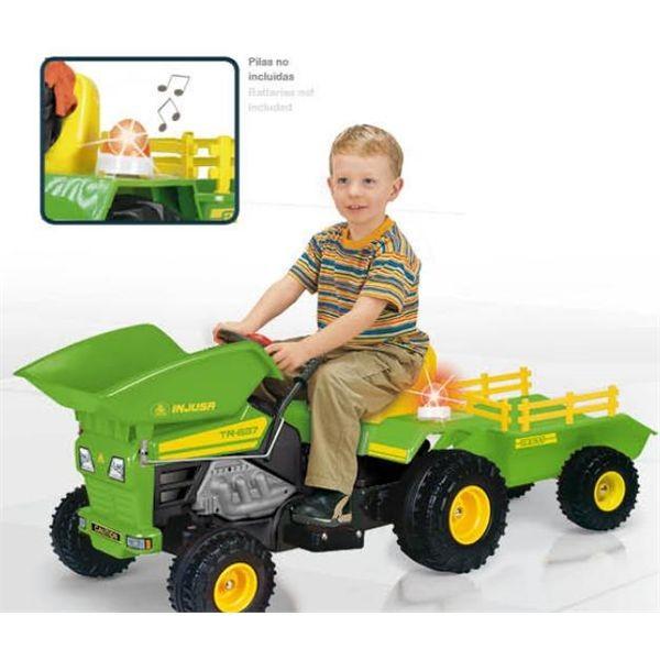 """Tractor  dump trac 6 v. con sirena"""""""""""""""""""