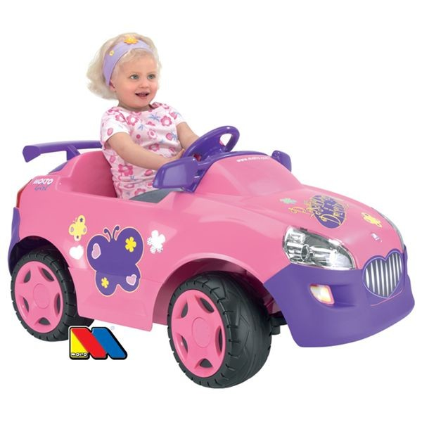 Coche elite one rosa 6 v.