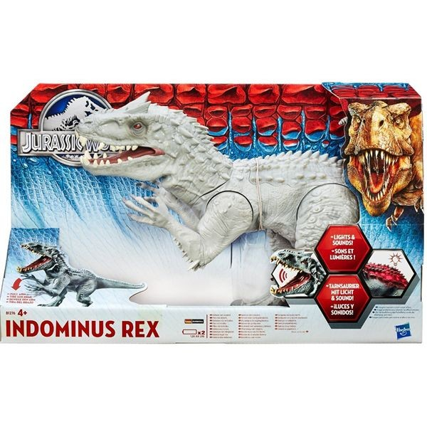 Jurassic world dino bad boy electronico