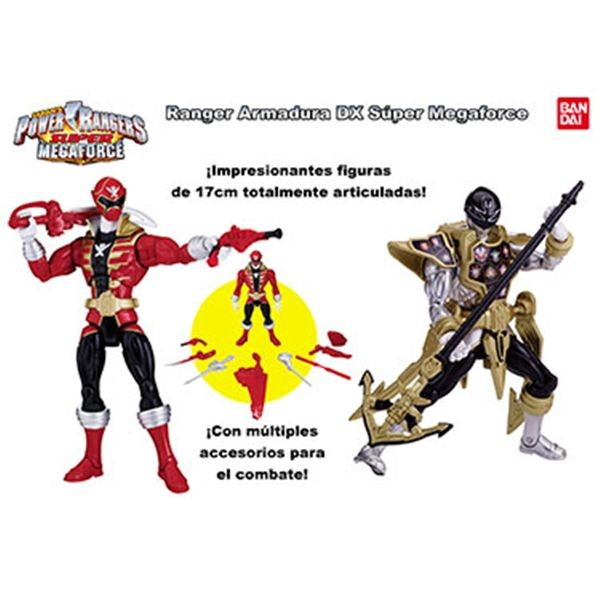 Power ranger armadura dx super megaforce