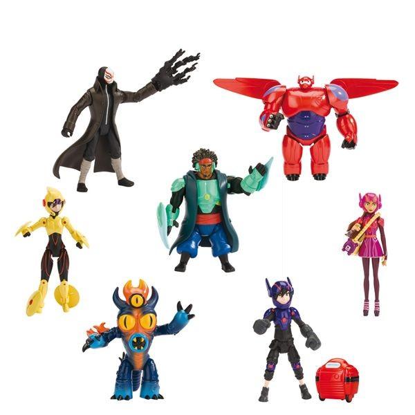 Figuras coleccion big hero 6 (precio unidad)