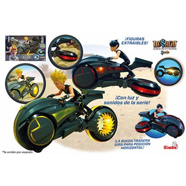 Sendokai figura con moto