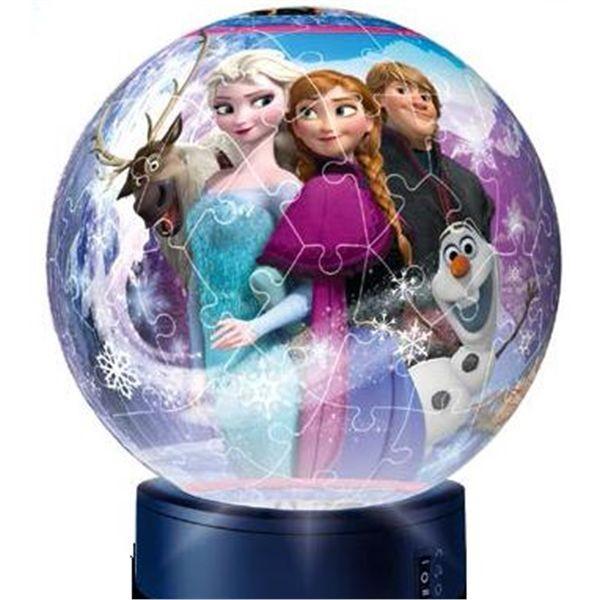 3d lampara frozen