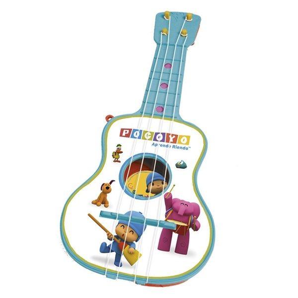 Guitarra 4 cuerdas en estuche pocoyo