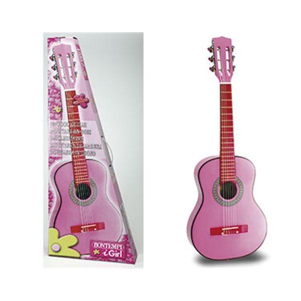 Guitarra rosa 75 cm.